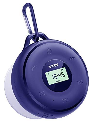 VTIN Bluetooth Lautsprecher, 25-Stunden-Akkulaufzeit und 20W Dual-Treiber Drahtloser Speaker Musikbox mit tiefem Bass und eingebautem Mikrofon für iPhone, iPad, Samsung, und andere Android Geräte