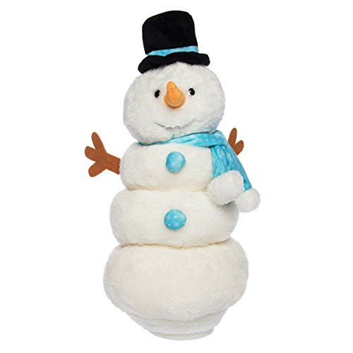 Animated Snowman Plush, Singing Christmas Toy
