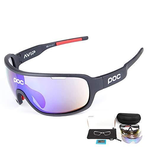 Hombres Protección Polarizada UV400 Conducción Ci Gafas de ciclismo POC opcionales multicolores...