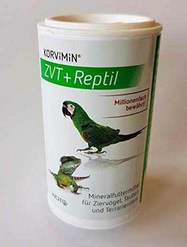 WDT Korvimin ZVT & Reptil Mineralfuttermittel, 50 g Streudose