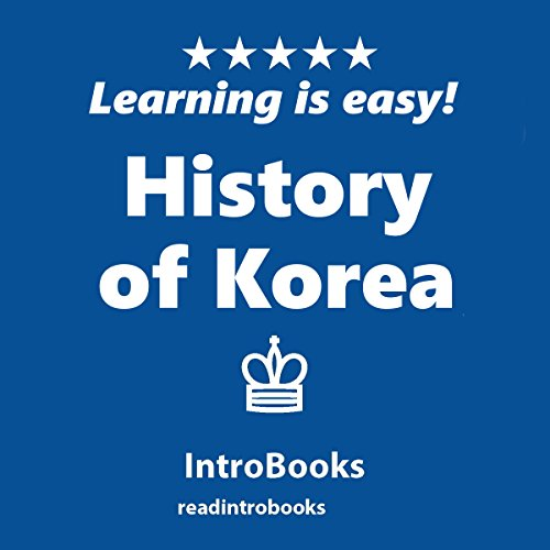 History of Korea audiobook cover art