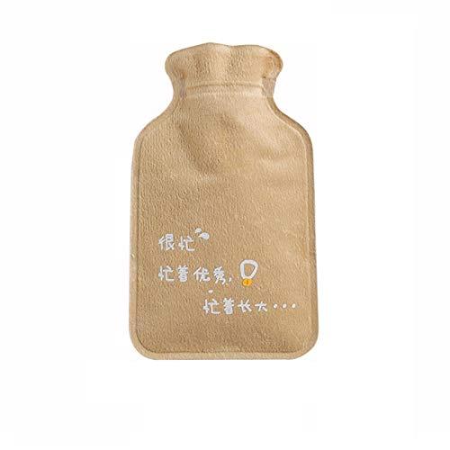 Bolsa de Agua Caliente Bolsa de agua caliente depositada Big Belly Pequeño número Portáaco Mano Calentador Agua Inyección de agua Botella de agua caliente Mujeres' Bolsa Agua Caliente ( Color : B )
