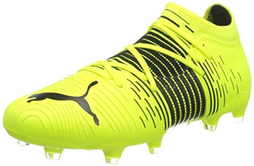 Puma Future Z 3.1 FG/AG, Zapatillas de fútbol Hombre, Yellow Alert Black White, 48.5 EU