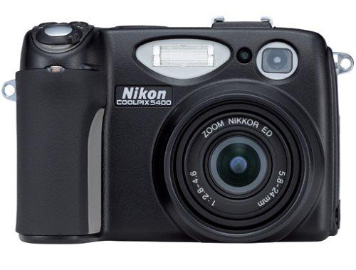 Nikon Coolpix 5400 Digitalkamera (5,1 Megapixel)