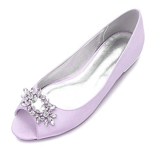 AQTEC Zapatos De Novia De Boda para Mujer Verano Elegante Diamante De...