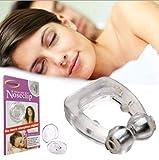 Bluelover Silikon Schnarchen Stopper Anti-Schnarchen Nase Clip Schlafhilfe Verhindern Trockenen Mund Helfen Atmung -