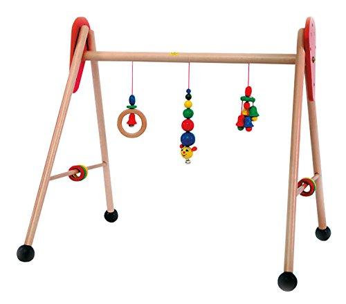 Hess 13321 - Barra de Actividades de Gimnasio para bebé, diseño Caterpillar
