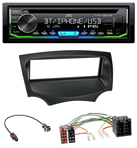 caraudio24 JVC KD-R992BT Bluetooth MP3 CD AUX USB Autoradio für Ford Ka (RU8, ab 2008)