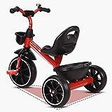 Triciclos Triciclo de Pedales de 3 Ruedas para Niños 2 3 4 5 6 Años, Bicicleta...