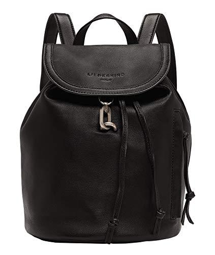 Liebeskind Berlin Grace Backpack Rucksackhandtasche, Small (30.5 cm x 32 cm x 18.5cm), black