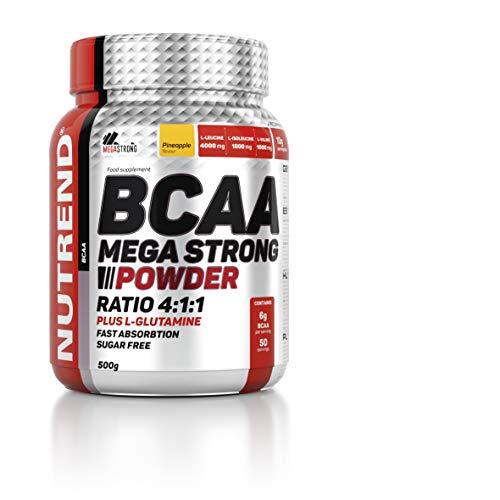 Nutrend BCAA Mega Strong Powder 500g (Pineapple)
