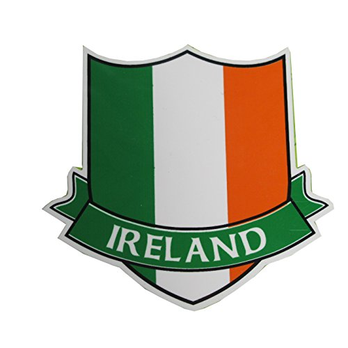 McLaughlin's Irish-Shop Produkt Irland Aufkleber Irische Fahne