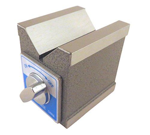 Magnetic V Block, Magnetic on 3 Sides, 2.875