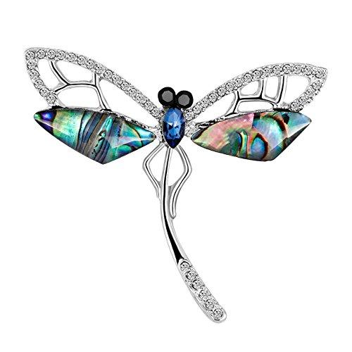 ITemer Moda Colorida libélula Estilo Elegante señoras