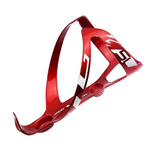 GUB SL Carbon Fahrrad-Flaschenhalter Ultraleicht ca. 24g, einfache Montage Rot