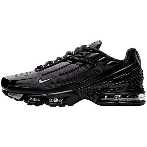 Nike Air MAX Plus III, Zapatillas para Correr para Hombre, Black Wolf Grey Black, 43 EU