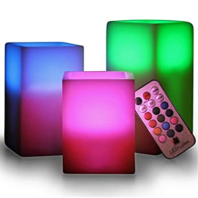 LED Lytes Multi-Color Flameless LED Candles