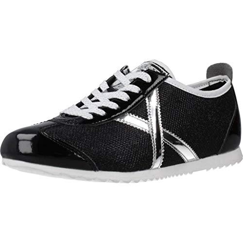 Munich Osaka 408 Negro Zapatillas para Mujer, 40