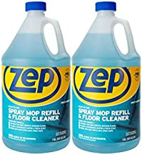 Zep Multi-Surface Floor Cleaner (Spray Mop Refill) 1 Gallon ZUMSF128 (Pack of 2) Great All-Purpose Cleaner For Home & Business