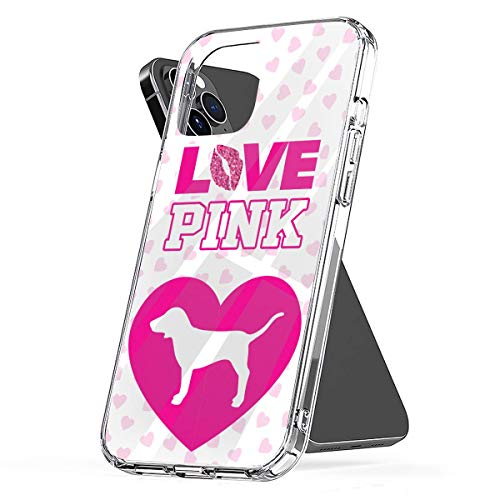 Phone Case Compatible with iPhone 12 6 2020 Se 11 X Xr 7 8 Pink 6s Victoria Plus Secret Xs Logo Pro Max Mini Scratch Waterproof Drop Accessories Tested Shock