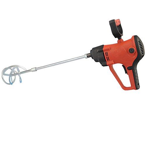 MXBAOHENG Industrie-Rührgerät mit Variabler Geschwindigkeit, elektrischer Mischpulver, chemischer Fütterung, Zementlack-Mischer, 220 V - SS304 70mm