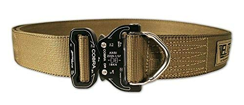 Unbekannt Elite Survival Systemen Cobra Rigger Belt mit D Ring Schnalle L Coyote Tan