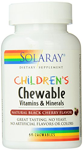 Children's Chewable 60 Comprimidos Masticables Solaray