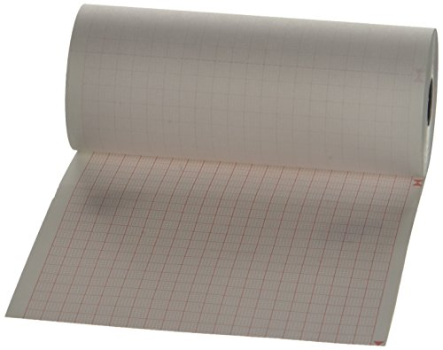 Rollos de papel térmico para ECG compatibles con Bioset 2000-000-031 (110mm x 25m)