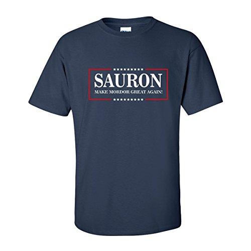 OffWorld Designs Make Mordor Great T-Shirt (Large) Navy