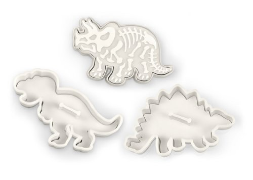 Dinosaur themed cookie cutters