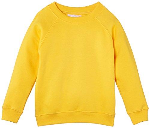 Sudadera amarilla para niños