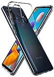 Spigen Liquid Crystal Kompatibel mit Samsung Galaxy A21s Hülle, Transparent TPU Silikon Handyhülle Durchsichtige Schutzhülle Case Crystal Clear ACS00975