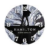 Reloj de pared The Hamilton redondo decorativo reloj para co