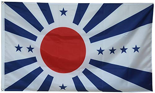 Dimike Japanese Pacific States Flag The Man in The High Castle Banner 3x5ft