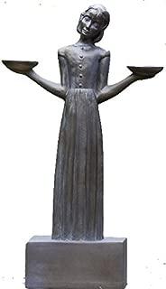 Bird Girl with Pedestal