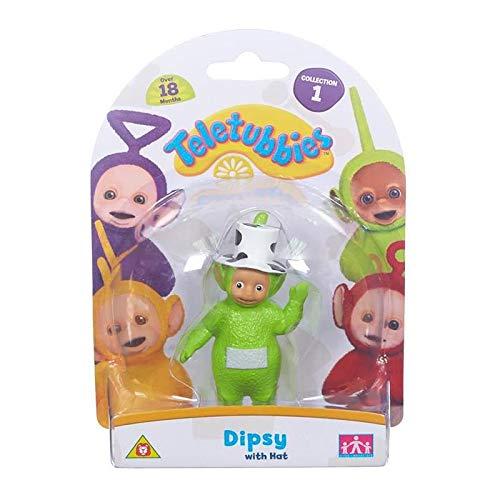 Teletubbies – Dipsy avec un Chapeau – Mini Figurine 7 cm