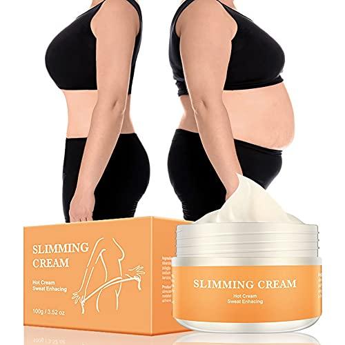 Crème chaude amincissante, crème de massage minceur Onkessy pour la cellulite, apaisante, relaxante, raffermissante et amp; Crème minceur et raffermissante pour le corps pour femme