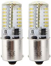 1156 LED Bombilla 12v 4W 6000K para Lluminación Decoración. (2 Piezas)