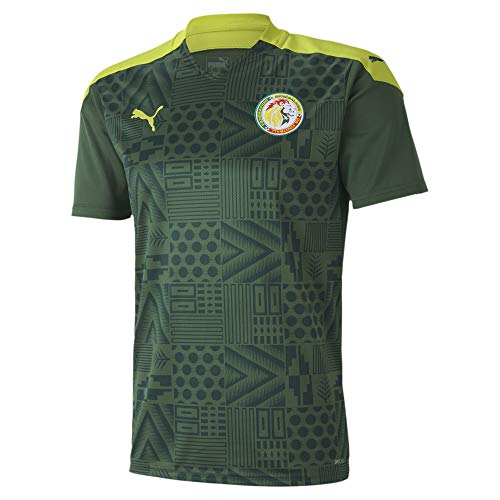 PUMA 2020-2021 Senegal Away Football Soccer T-Shirt Jersey