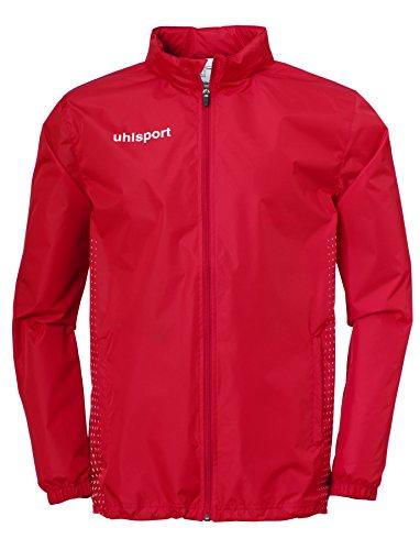 uhlsport Kinder Score Regenjacke Jacke, rot/Weiß, 152