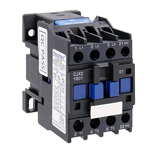 Heschen AC Contactor CJX2-1801 220V 50/60Hz Bobina 3P 3...