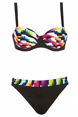 Sunflair Damen Bikini Set 71128 schwarz (910) Gr.38G