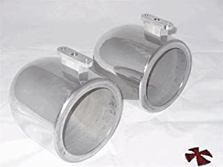 6.5 inch Polished Wakeboard Tower Speaker Cans for Malibu Illusion X Boats