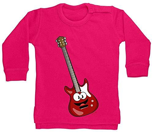 Hariz - Jersey para bebé, guitarra eléctrica, instrumentos divertidos, tarjetas de regalo,...