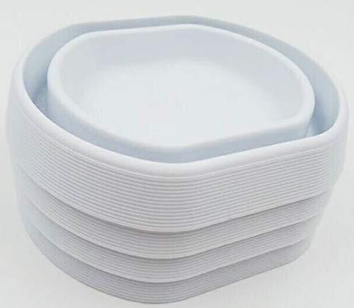 Niapoc Bed Bugs - Trampa para chinchetas (4 unidades), color blanco