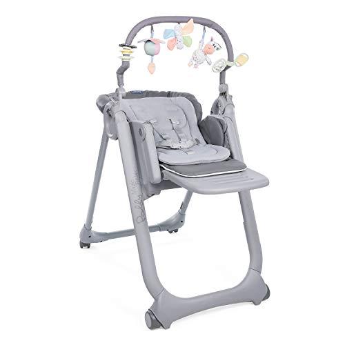 Chicco Polly Magic Relax Chaise Haute Bébé Évolutive et Pliable à 4 Roues, Enfants de la...