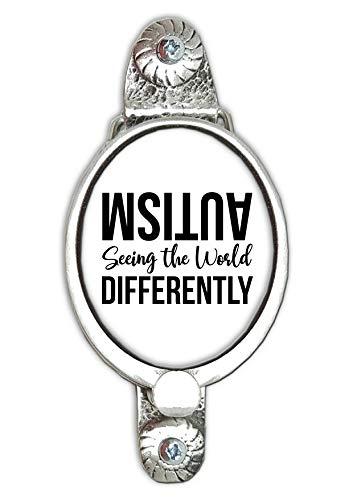 Stoneys Insignias Autism Seeing The World Differently - Aldaba para Puerta (Peltre)