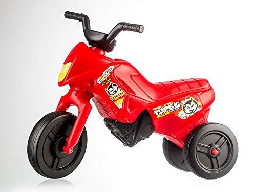 YUPEE Enduro / Motorbike Klassisch Dreirader ab 1 Jahr (Ruby RED)