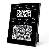 ChalkTalkSPORTS Cheerleading Photo Frame | Coach (Autograph) Picture Frame | Black