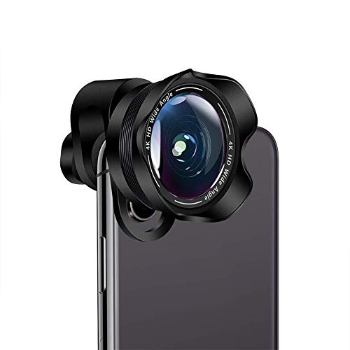 Alician 2 in 1 mobiele telefoon camera lens asferische brede hoek Super Macro Lens Clip-On telefoon camera lenzen voor iPhone Samsung meeste Andriod telefoons
